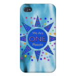 We Are One People iPhone 4/4S Covers