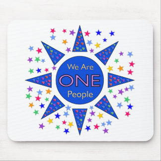 We Are One People Mouse Pad