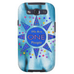 We Are One People Samsung Galaxy SIII Cover
