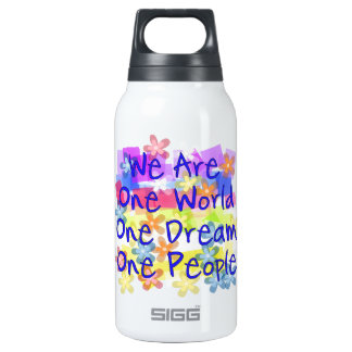 We Are One People Thermos Bottle