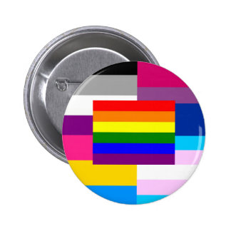 We are one! pinback button