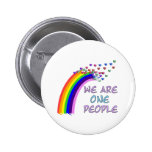 We Are One Pinback Buttons