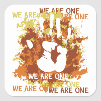 We Are One Stickers