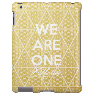 We Are One The Harem iPad Case