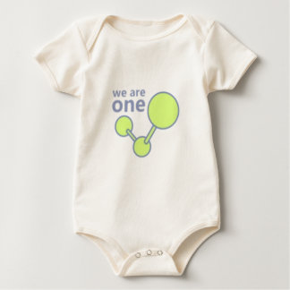 We are one - the quantum truth baby bodysuit