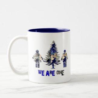 We Are One Two-Tone Coffee Mug