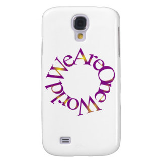 We Are One World (Purple) Samsung Galaxy S4 Cover