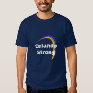 We Are Orlando Strong Awareness T-Shirt