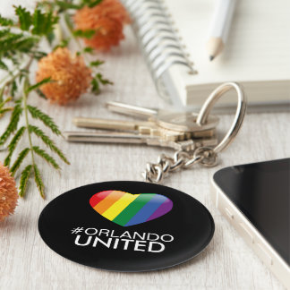We Are Orlando Strong/ United KeyChain
