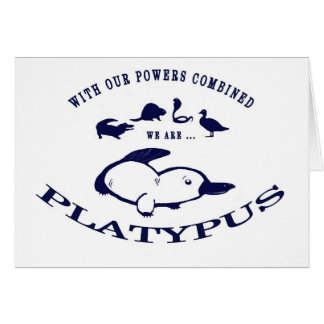 We are Platypus Card