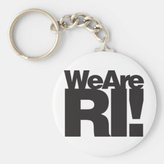 We Are Rhode Island Keychain