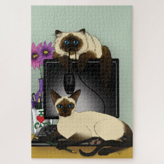 We are Siamese... Jigsaw Puzzle
