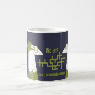 We are smart, driven and passionate coffee mug