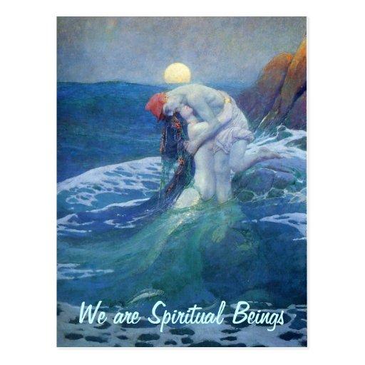 We are Spiritual postcard