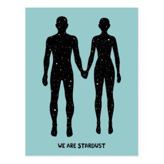 We Are Stardust Postcard