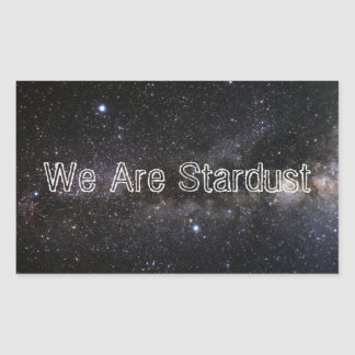 We Are Stardust Stickers