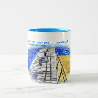 """""""We Are Stronger than the Storm"""" New Jersey Mug"""
