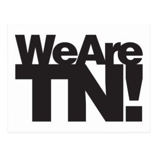 We Are Tennessee Postcard