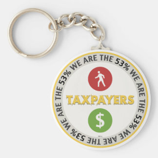 We Are The 53 Taxpayers Key Chains