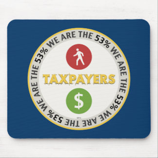 We Are The 53 Taxpayers Mousepad