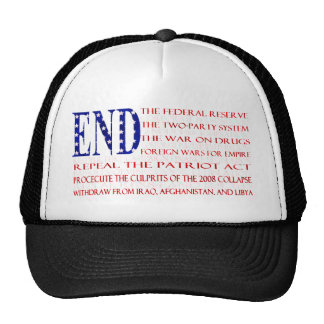 We are the 99% 13 Demands, American Flag Trucker Hat