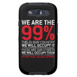 We are the 99% - 99 percent occupy wall street samsung galaxy s3 cover
