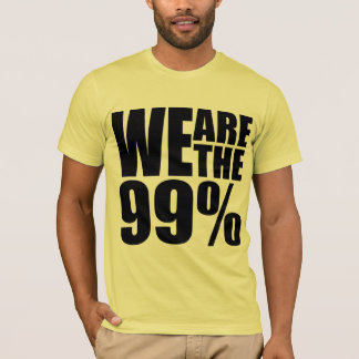 We Are the 99% American Apparel T-Shirt