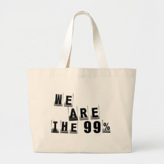 We Are The 99% Canvas Bag