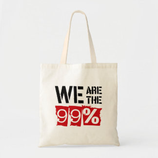 We Are The 99 Tote Bags