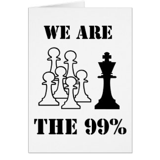 We are the 99% card