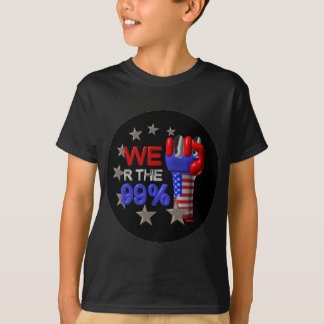 We are the 99 fist on 30 items T-Shirt