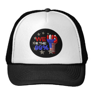 We are the 99 fist on 30 items trucker hat