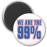 we are the 99% in the United States Fridge Magnet