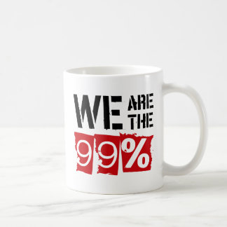 We Are The 99% Mugs