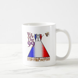 We Are The 99% Occupy Public Space Mug