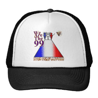 We Are The 99% Occupy Public Space Trucker Hat
