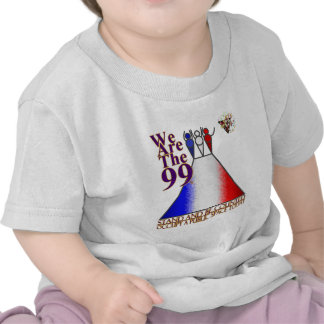 We Are The 99% Occupy Public Space Shirts