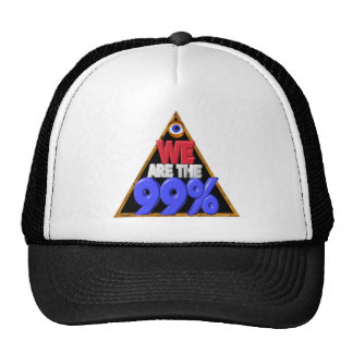 We are the 99% Occupy wall street protest Trucker Hat