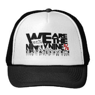 We Are The 99% - Occupy Wall-Street Trucker Hat
