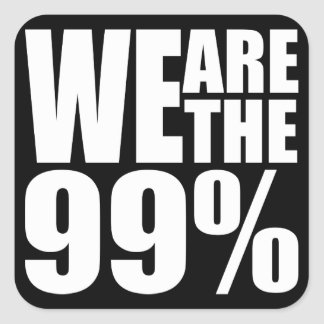 We Are the 99 Sticker