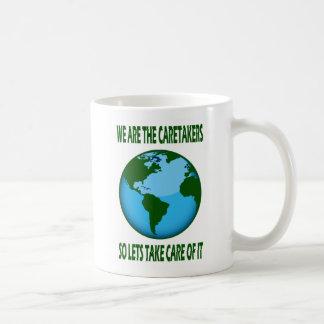 WE ARE THE CARETAKERS COFFEE MUG