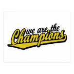 we are the Champions Postcard