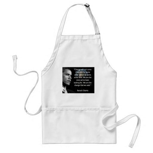 We are the Change that we seek Apron