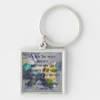 We are the dreamers of dreams keychain