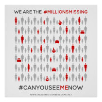 We are the #MillionsMissing: Poster