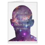 We are the Universe Greeting Card