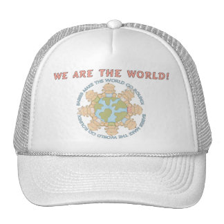 We are the World Cap Trucker Hat