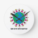 We Are The World Clock