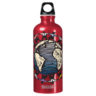 We are the World SIGG Traveler 0.6L Water Bottle
