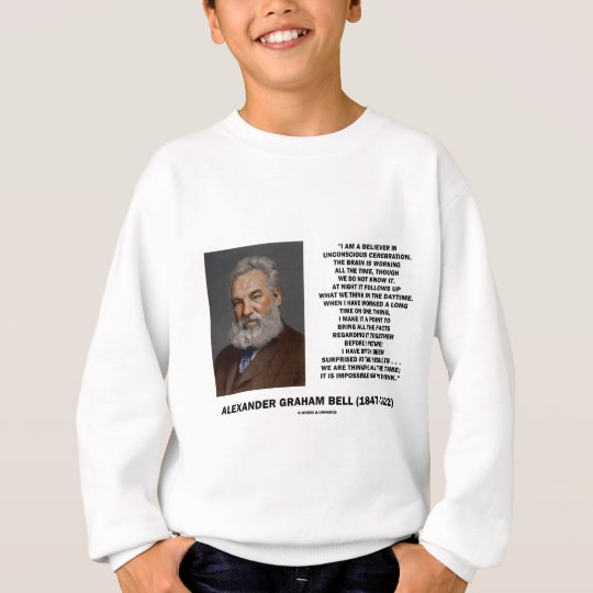 We Are Thinking All The Time Impossible Not Think Sweatshirt